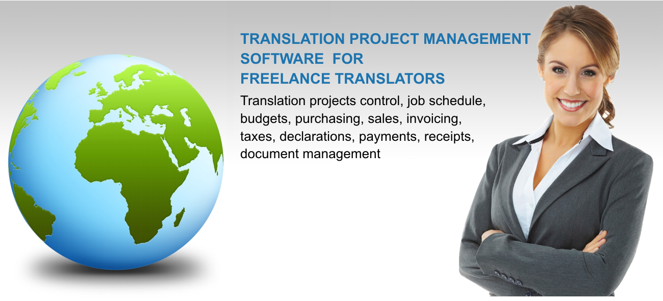 Management software for translators